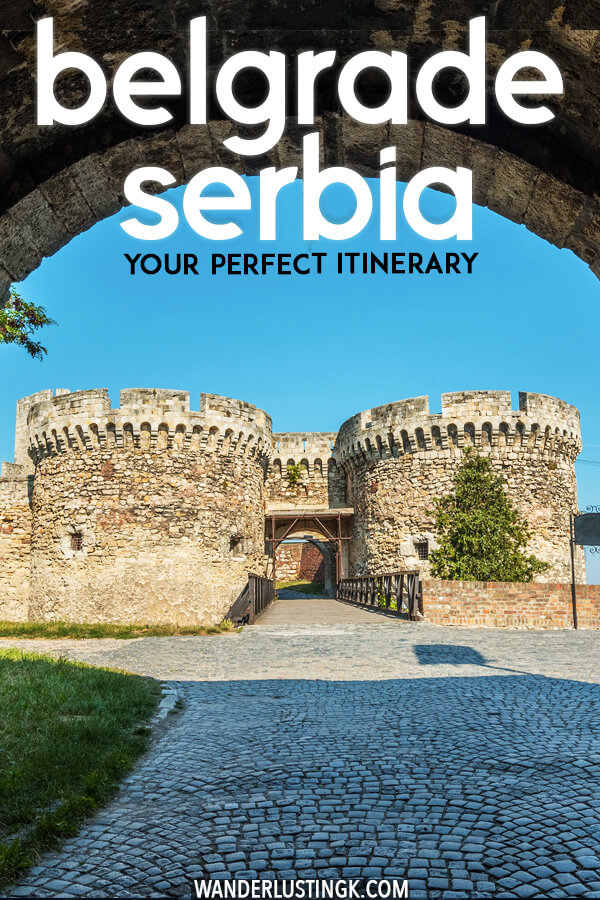 Planning your trip to the Balkans? Your perfect itinerary for Belgrade. Belgrade is Serbia's electric capital that you'll want to include on your Balkan trip! #travel #balkans #serbia #belgrade