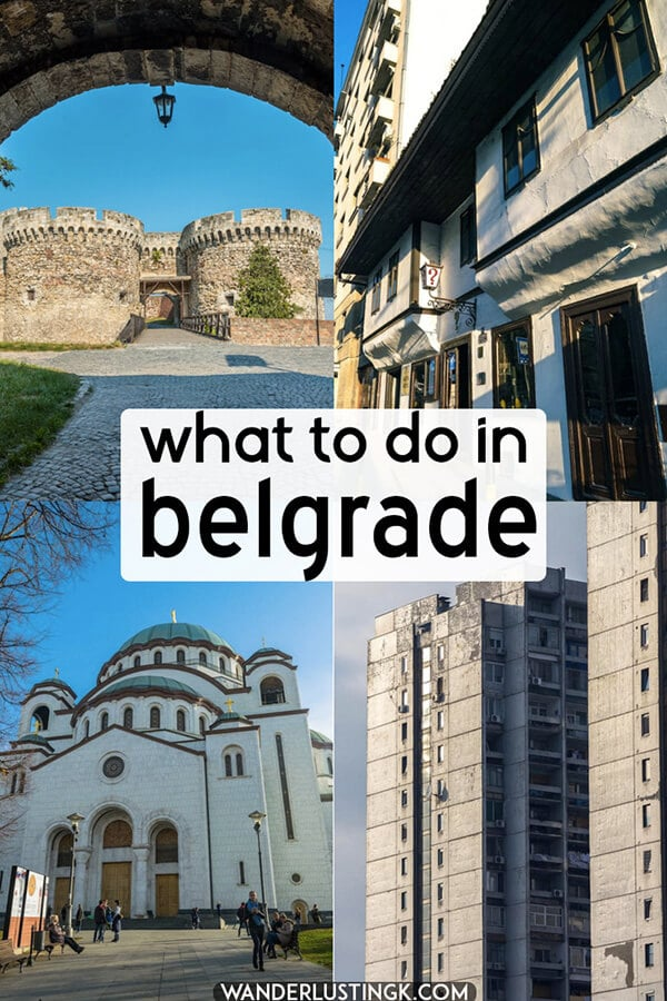 Planning your trip to Belgrade, Serbia? Read about the best things to do in Belgrade with a complete itinerary for what to do in Belgrade, Serbia's capital. #travel #serbia #belgrade #balkans