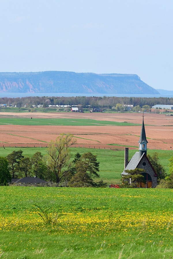 Photo of Grand-Pré, one of the Canadian heritage sights in Nova Scotia that you will want to visit in Nova Scotia. #novascotia #travel