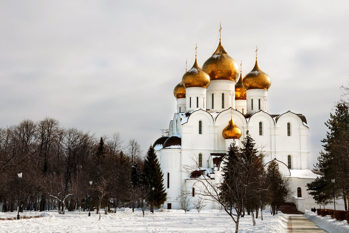 Beautiful historic church in Yaroslavl, Russia. #travel #russia #europe