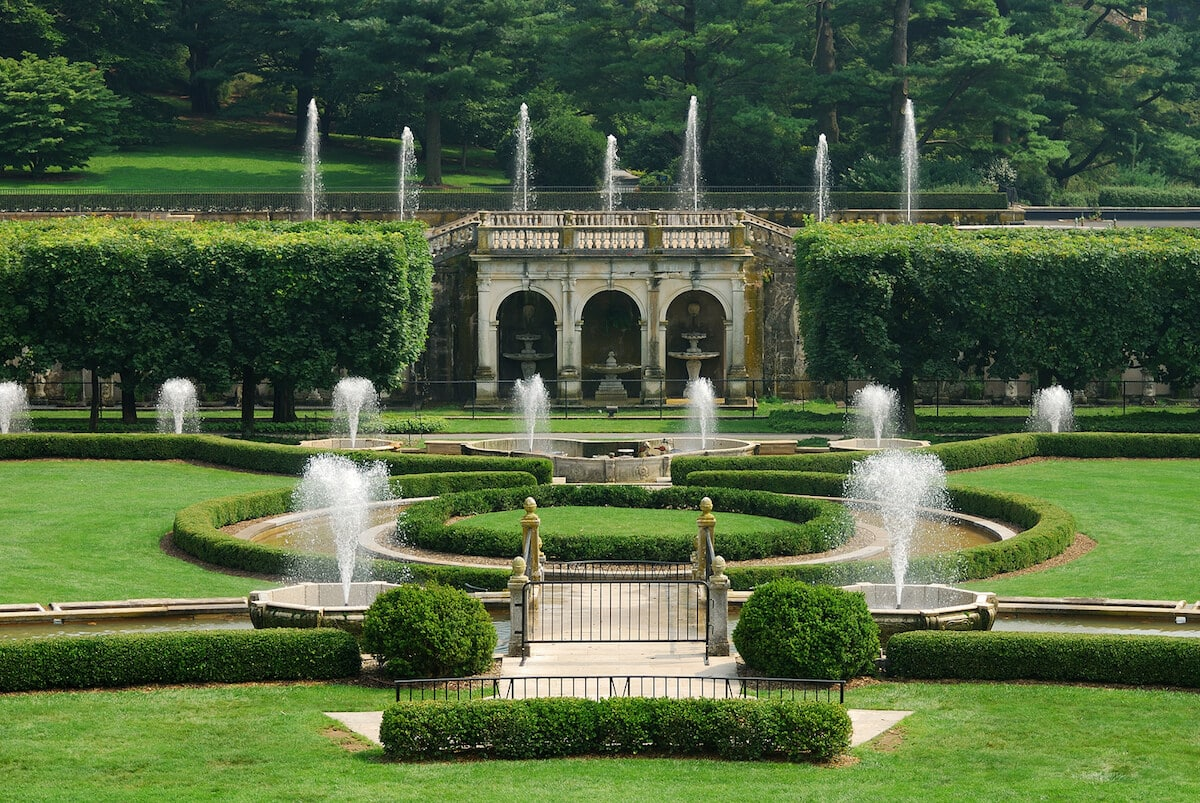 Longwood Gardens, one of the best day trips from Philly!