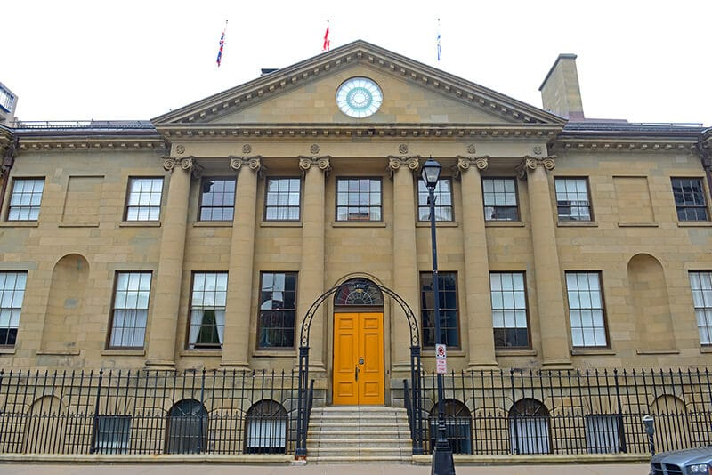 Government building in Halifax, Nova Scotia.