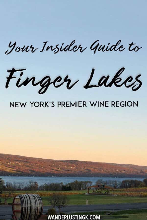Looking to taste New York's best wine? Head to the Finger Lakes in New York State, the perfect weekend trip from New York City for hiking, wine, art, and fun. Read an insider's guide to the Finger Lakes! #travel #newyork #ithaca #wine