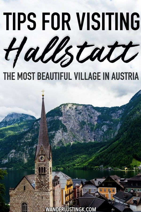 Planning your trip to Hallstatt, Austria? Some tips to keep in mind, including how to get to Hallstatt from Salzburg, how to avoid the other tourists at Hallstatt and what NOT to do at Hallstatt. #hallstatt #austria #travel #europe