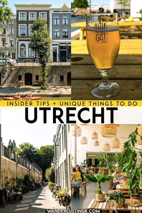 Planning your trip to Utrecht, the Netherlands? Read tips on the most unique things to do in Utrecht with insider tips for visiting Utrecht off the beaten path. #utrecht #netherlands