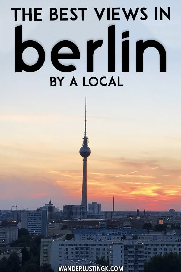 Looking for epic photos of Berlin? Read about the best places to take photos of Berlin's skyline written by a local. #berlin #travel #germany