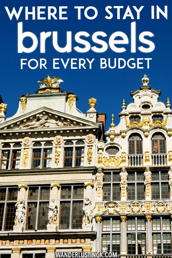 Looking for accomodations in Brussels, Belgium? Read where to stay in Brussels for every budget, including clean and affordable hotels in Brussels. #brussels #Belgium #travel #europe