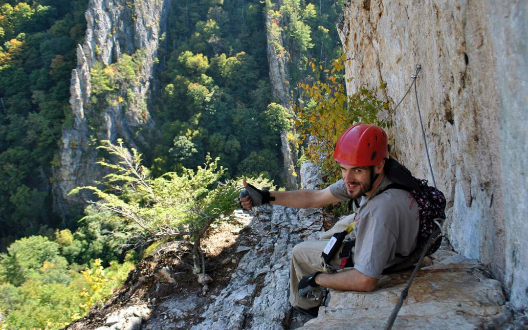 What to know about climbing the Nelson Rocks via ferrata in West Virginia