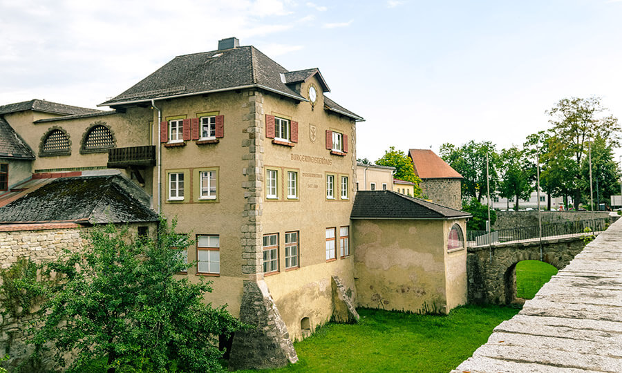 Moat in Freistadt, one of the best preserved cities in Austria. #austria Read about why you must visit Freistadt!
