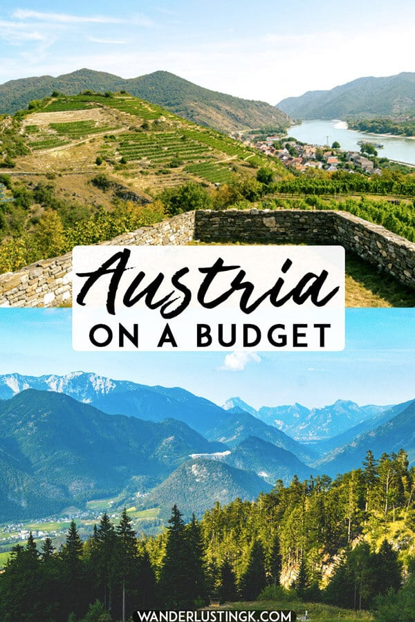 Traveling in Austria on a budget? 15 tips on how to save money in Austria from accomodations to food! #travel #austria #europe