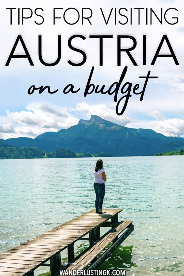 Looking to visit Austria on a budget?  Fifteen tips on how to cut costs while traveling in Austria having your dream trip! #travel #austria #europe #budget
