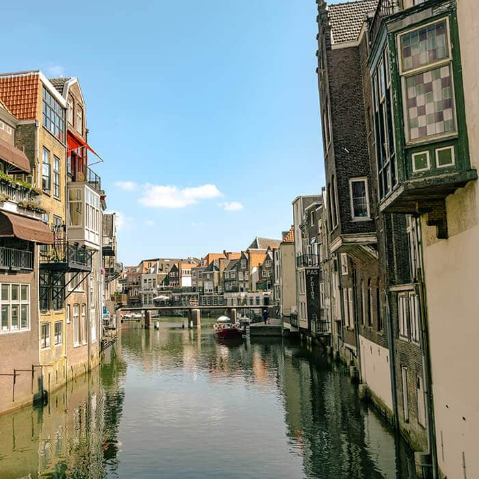 Dordrecht: the Venice of the Netherlands.  Don't miss this beautiful Dutch city off your Dutch bucket  list. #travel #netherlands #holland