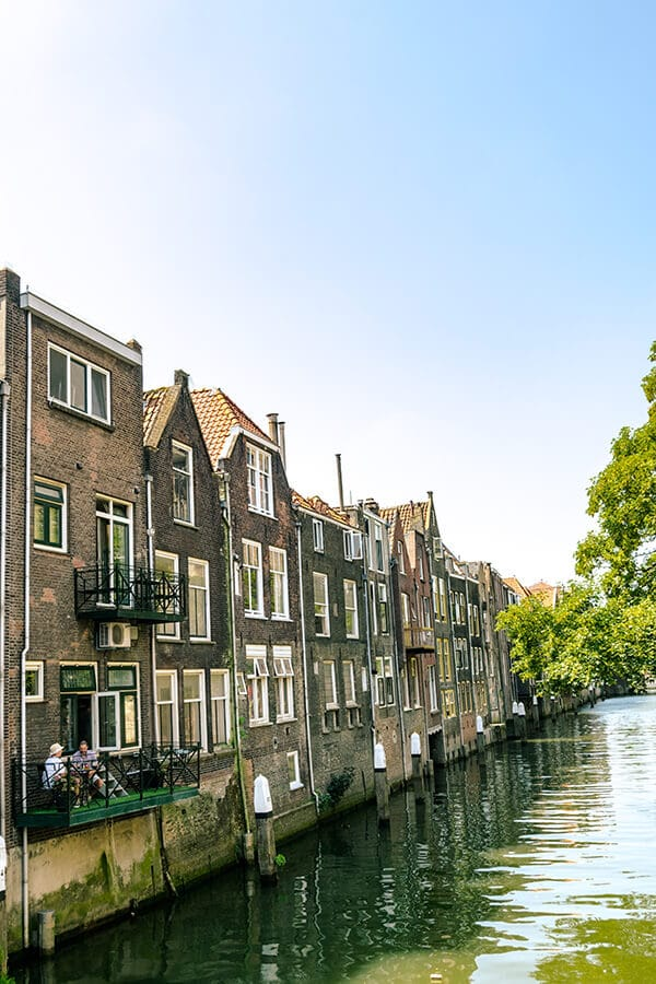 Beautiful warehouses in Dordrecht. Read about the perfect day trip to Dordrecht, a stunning day trip from Rotterdam! #travel #dordrecht #holland #nederland #netherlands