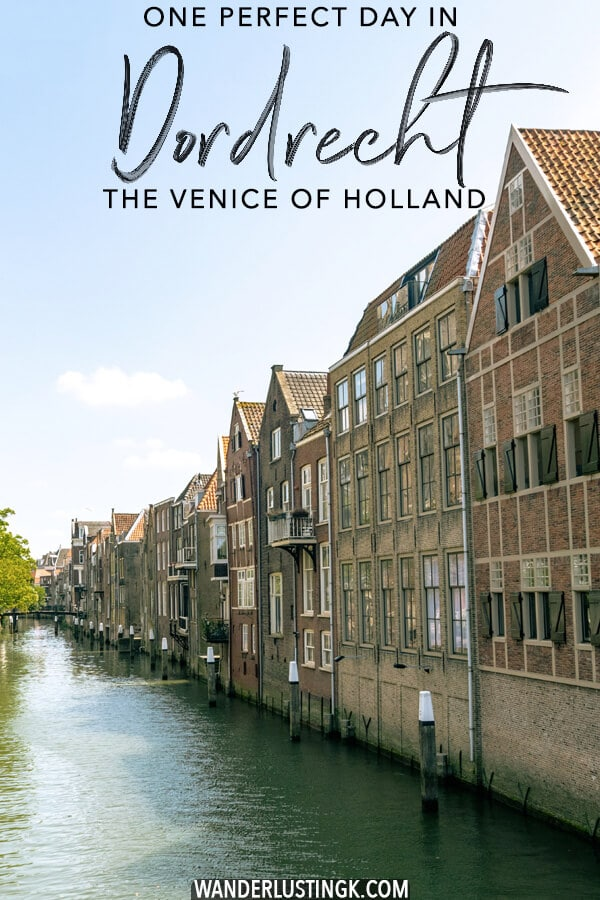 Planning a day trip to Dordrecht? Read about the best things to do in Dordrecht in this picturesque day trip in Holland to see the oldest city in Holland, known as the Venice of Holland. #travel #holland #netherlands