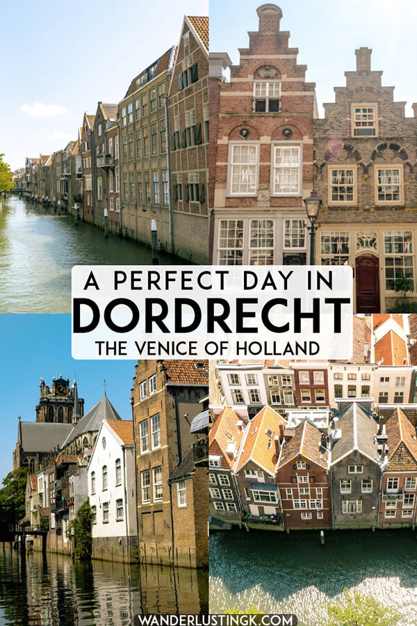 Looking for the perfect day trip from Rotterdam, the Netherlands? Visit the Venice of Holland! Dordrecht is a stunning city in Holland worth taking a day trip from Amsterdam! #travel #netherlands #holland