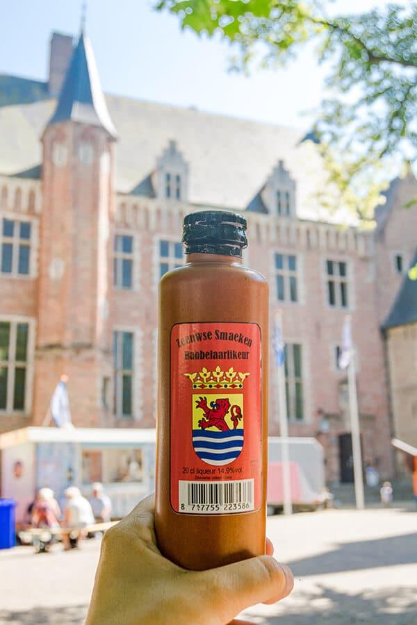 Traditional Zeeuwse liquor (Babbelaar) in MIddelburg, the Netherlands.  #travel #middelburg