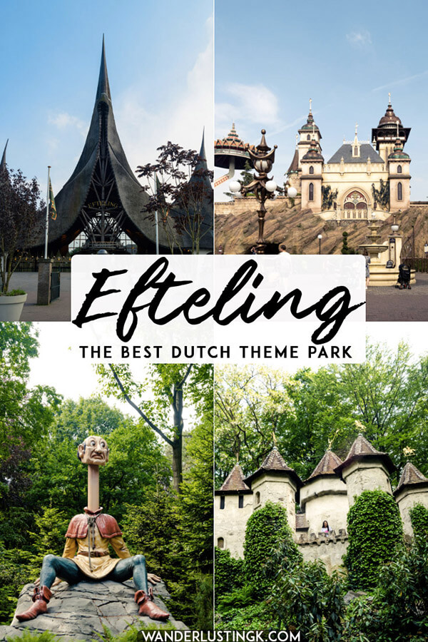 Love Disney? Consider visiting the unique Efteling theme park in the Netherlands, one of the most original amusement parks in the world, perfect for adults and families! #travel #netherlands