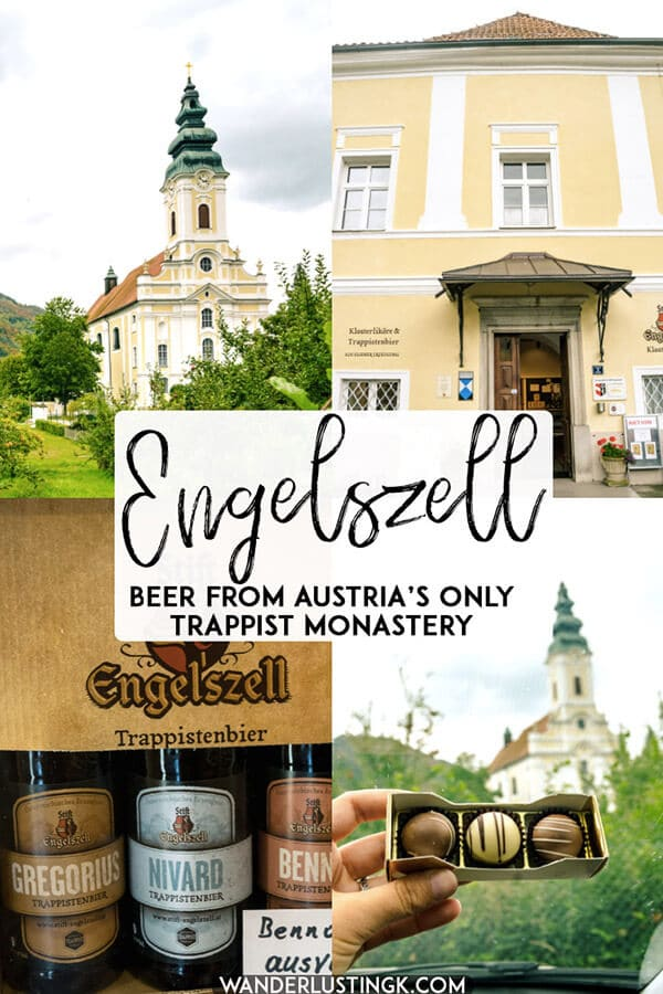 Considering visiting Austria's only trappist monastery? What you need to know about visiting Stift Engelszell, one of the smallest Trappist breweries in the world. #austria #travel #beer #trappist