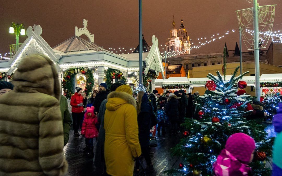 What to expect from celebrating Christmas in Moscow