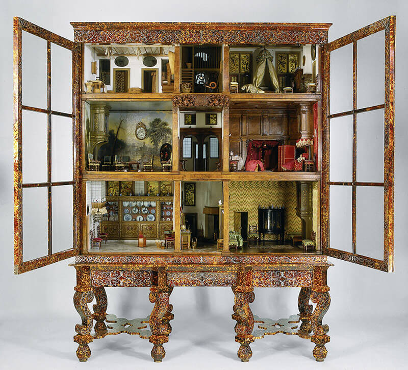 Beautiful dollhouse that inspired the Miniaturist. Photo courtesy of the Rijksmuseum in Amsterdam. #travel #netherlands #history #literature