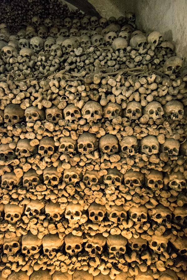Bones of 6,000 early Christians in the ossuary of St. Florian monastery in Austria. #austria #ossuary