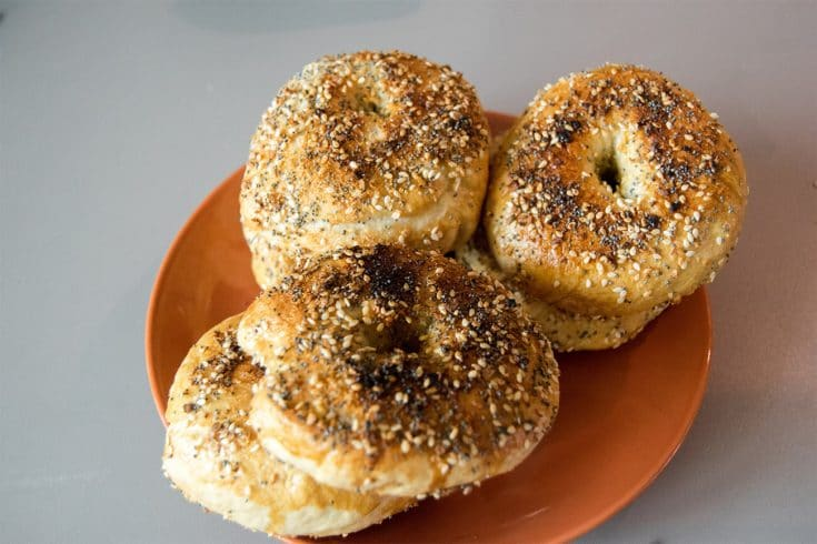 Delicious authentic New York Style bagels made at home in your kitchen. Read this easy recipe for making New York everything bagels written by a New Yorker!