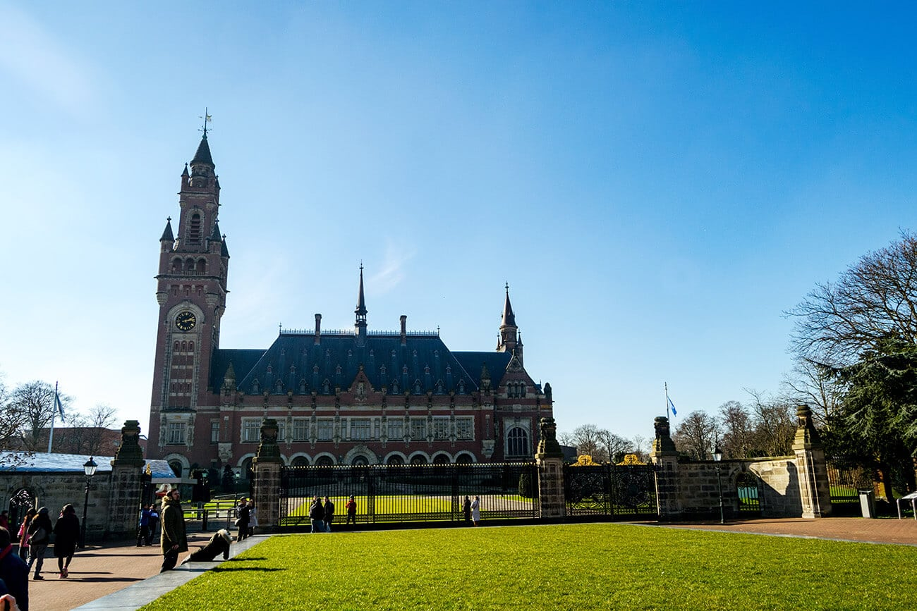 The Peace Palace in the Hague. Read how to visit the Vredespaleis in this guide to the history and interior of the Peace Palace.