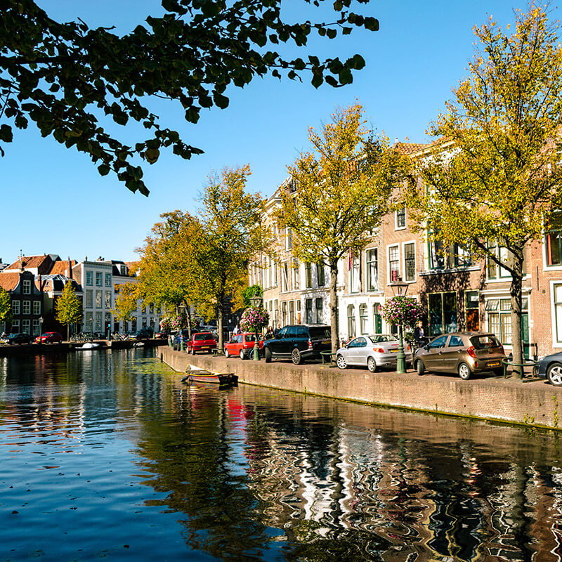 A beautiful Dutch city.  Read how to make friends as an expat (in the Netherlands!)