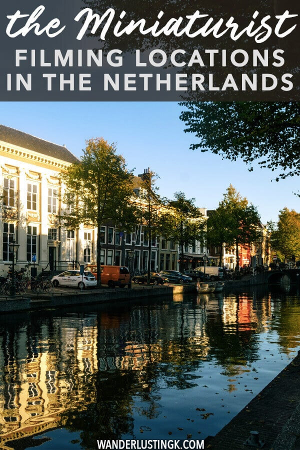 Loved the Miniaturist miniseries? Read about the real filming locations of the Miniaturist as well as must-see locations for lovers of the Miniaturist book! #amsterdam #holland #literature #netherlands #leiden