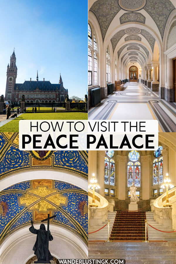 Dreaming of visiting the Peace Palace in the Hague? Your guide to visiting the stunning Vredespaleis in the Netherlands written by a resident of the Hague! #holland #UN #netherlands #nederland #architecture #denhaag