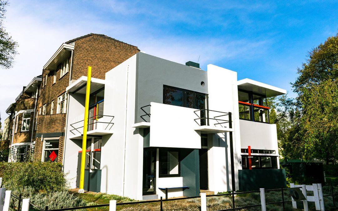 The Rietveld Schröderhuis: the iconic building of De Stijl