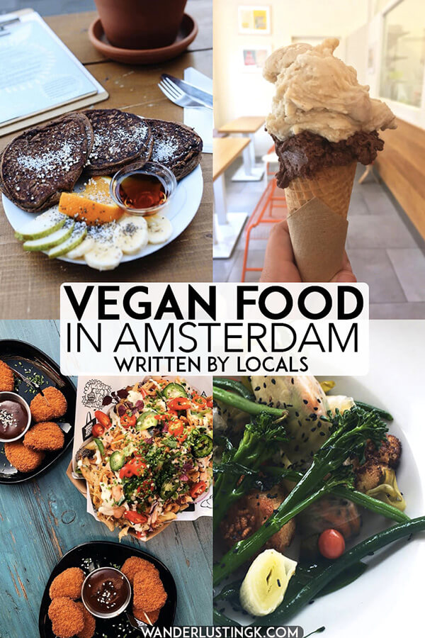 Looking for the best vegetarian food in Amsterdam? Read this local guide to the best vegan food in Amsterdam, the Netherlands written by residents! #vegan #amsterdam #netherlands #holland