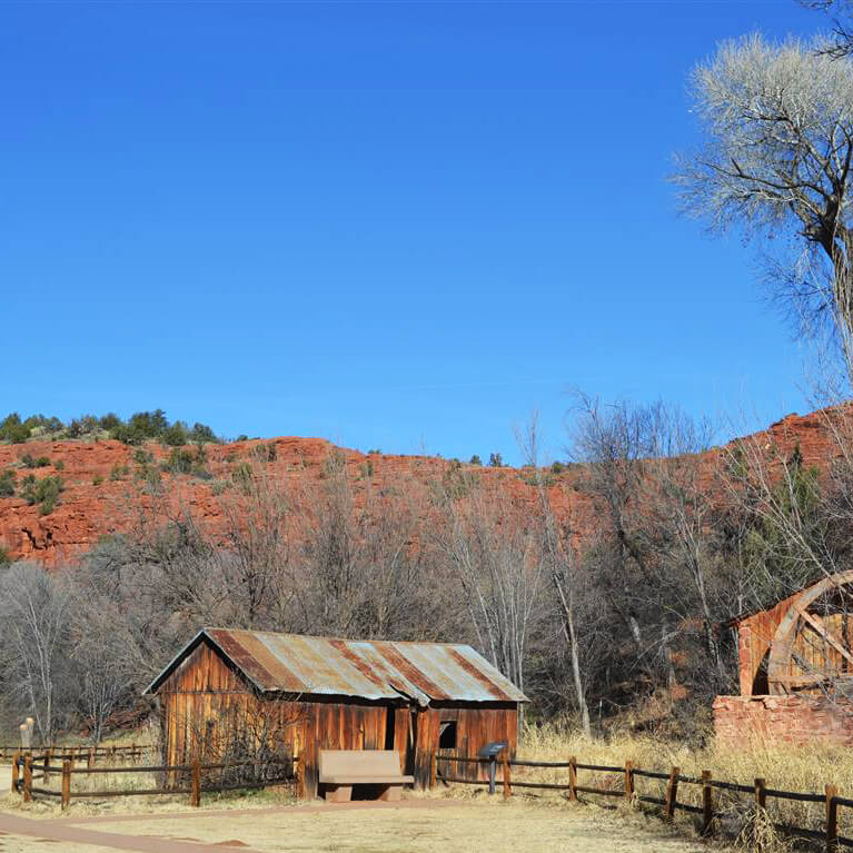 Crescent Moon Ranch is one of the best places to visit during a getaway in Sedona, Arizona.  This beautiful Arizona city is perfect for a weekend getaway! #travel #arizona #sedona