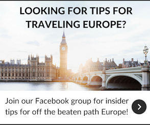 Wanderlustingk Facebook Group for European Travel