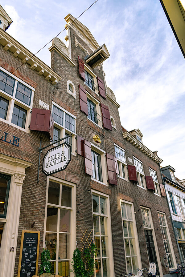 A beautiful house along Krommestraat, one of the main shopping streets for boutique shops in Amersfoort.  #travel #amersfoort #utrecht #nederland #shoplocal