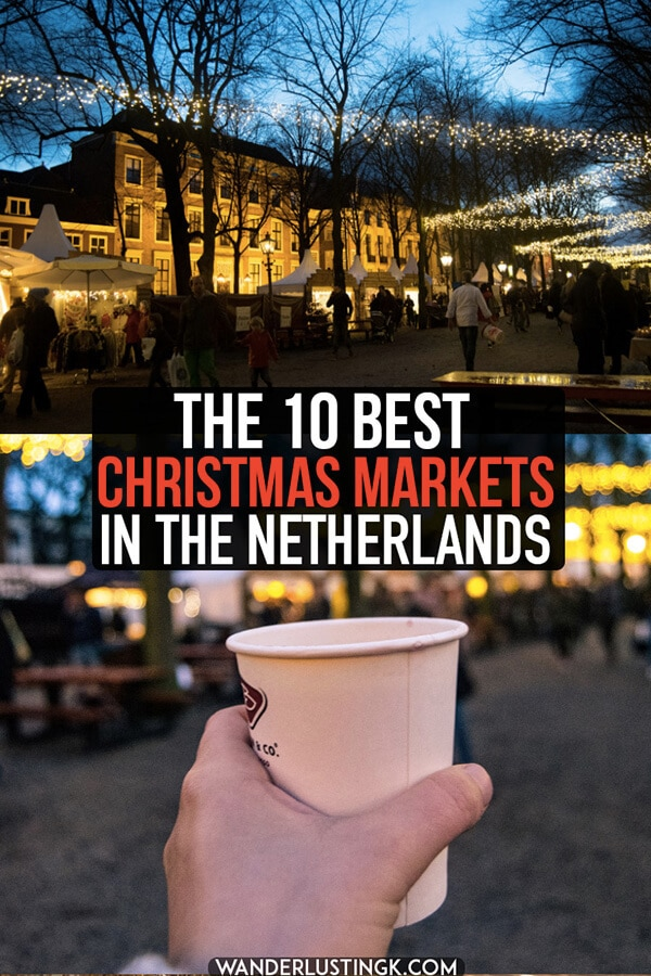Planning your holiday travels? Read about the best Christmas markets in the Netherlands that you won't want to miss this year, including four kerstmarkten in Holland! #kerst #christmas #holland #netherlands #christmasmarket #nederland #kerstmarkt