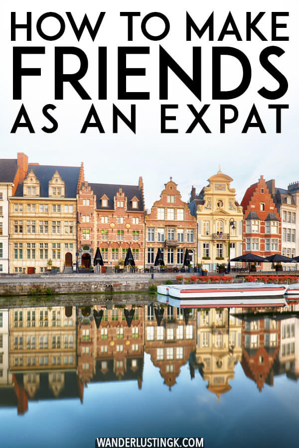 Moving abroad? Tried and tested tips for making friends as an expat (or for anyone who has moved to a new city!) #expat #expatlife