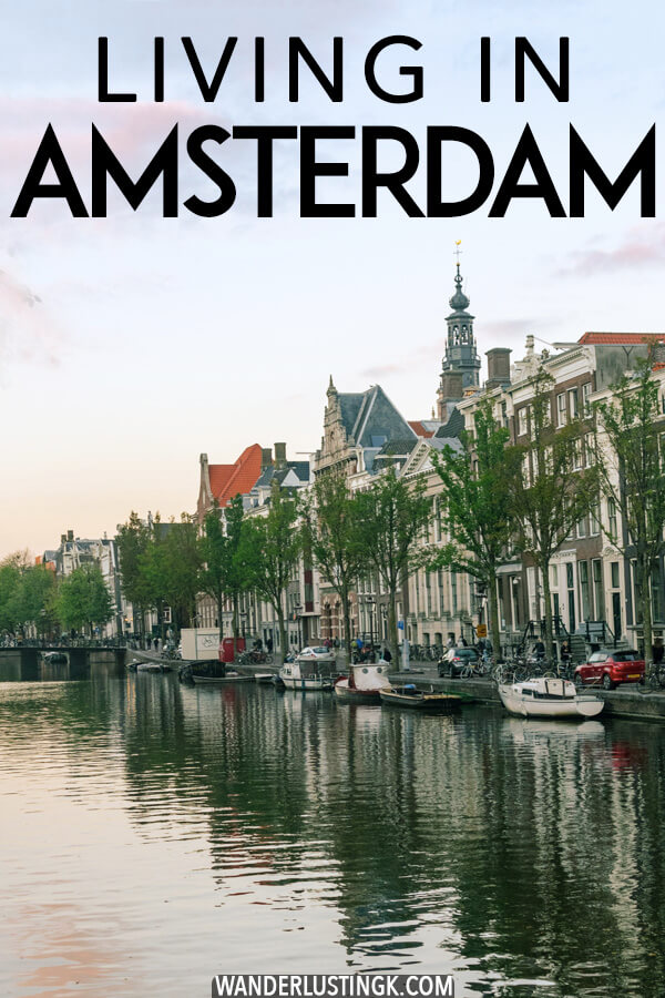 Interested what it's like to move to Amsterdam, the Netherlands? Insight into what it's like living in Amsterdam written by an expat! #expat #netherlands #amsterdam