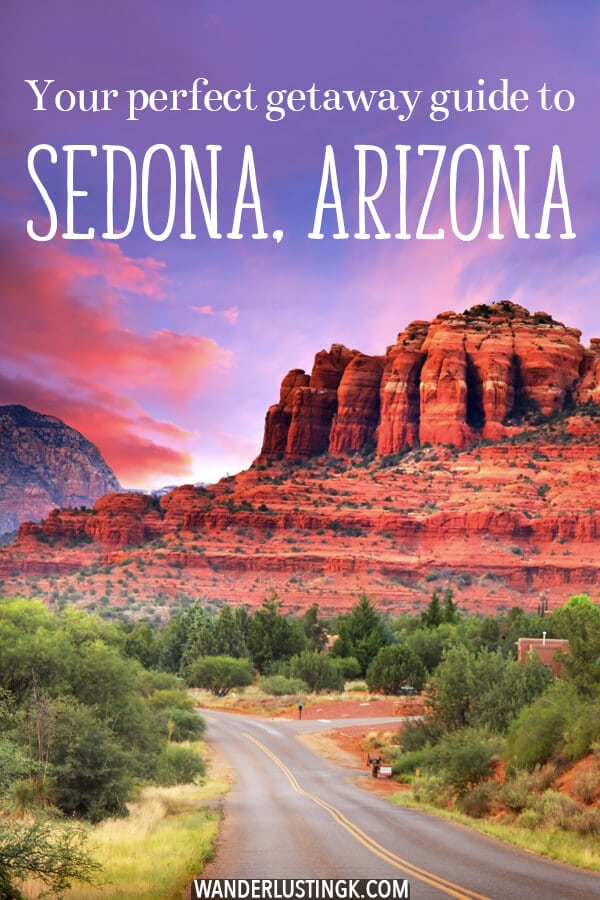 Looking for the perfect relaxing weekend getaway in the United States? Consider heading to Sedona, Arizona.  Read this complete weekend guide to Arizona's prettiest city! #arizona #sedona #travel