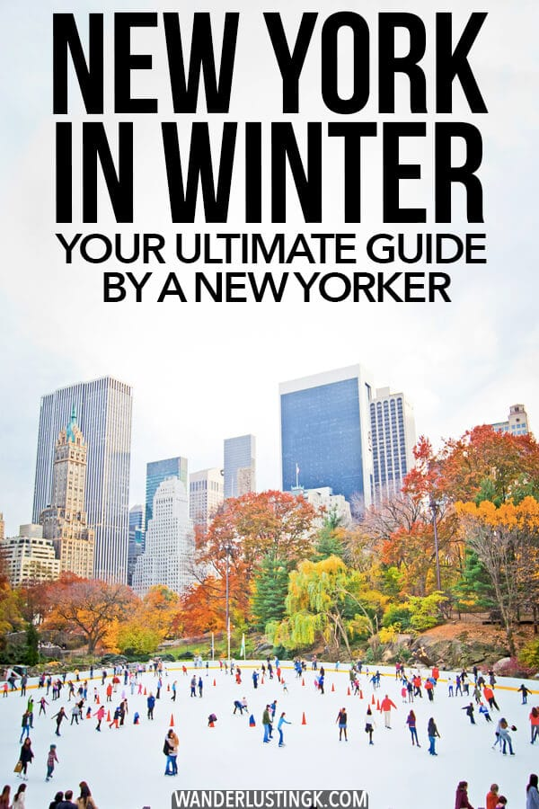 Planning your dream trip to New York City? Read what to do in New York during winter, including spending Christmas in New York! Includes insider tips from a native New Yorker on the best things to do in NYC when it's chilly. #travel #NYC #NewYorkCity #NewYork