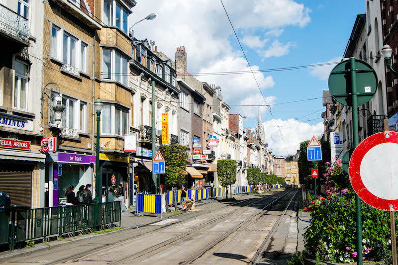 Residential neighborhood in Brussels.  Although it's not a digital nomad hub, it's worth reading about the ins-and-outs of visas.