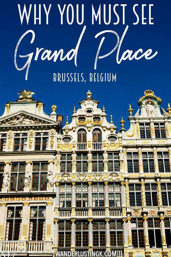 Planning your trip to Brussels, Belgium? Read why you should visit Grand Place (Grote Markt) in Brussels, Belgium with highlights! #travel #belgium #brussels #europe #UNESCO