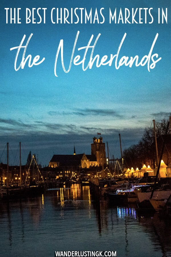 Looking for the best Christmas markets in the Netherlands? Insider tips by a resident for the most magical christmas markets outside of Amsterdam that you can't miss! #Kerst #Amsterdam #Holland #Travel #Christmas #Kerstmarkt