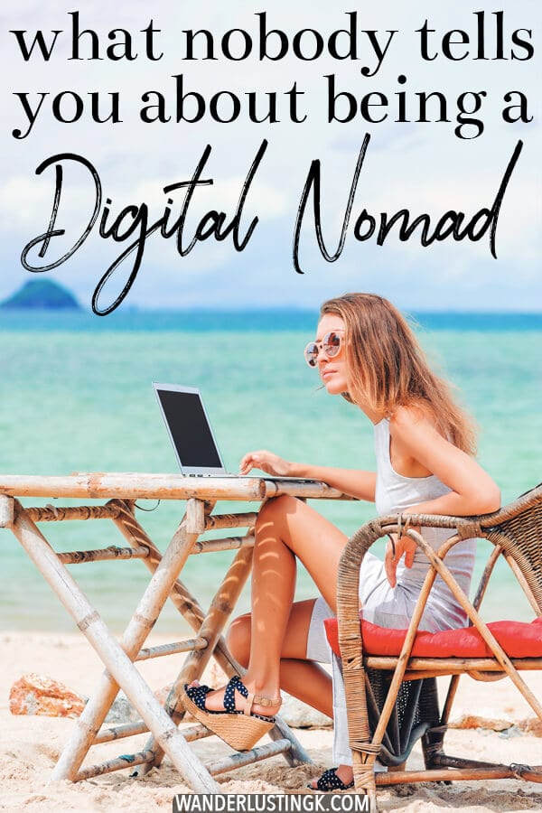 Planning to become a digital nomad? Read about the ugly side of being a digital nomad and an essay about being a responsible digital nomad! #travel #digitalnomad #nomad