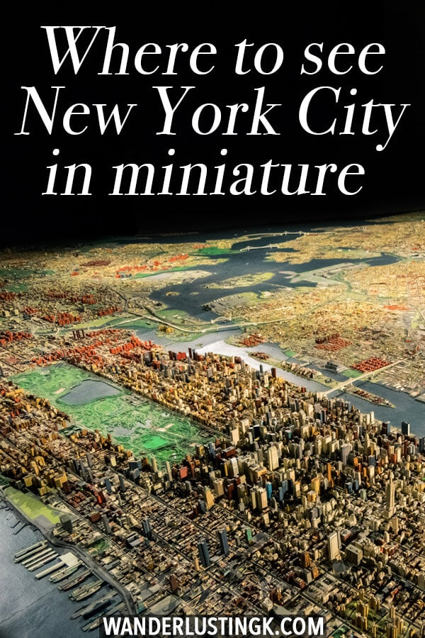 Curious about seeing New York City in miniature? This budget friendly and kid-friendly exhibition in Queens shows off a miniature version of New York City.  This is the best way to see New York from above without a helicopter and on a budget! #travel #NYC #NewYork #Queens