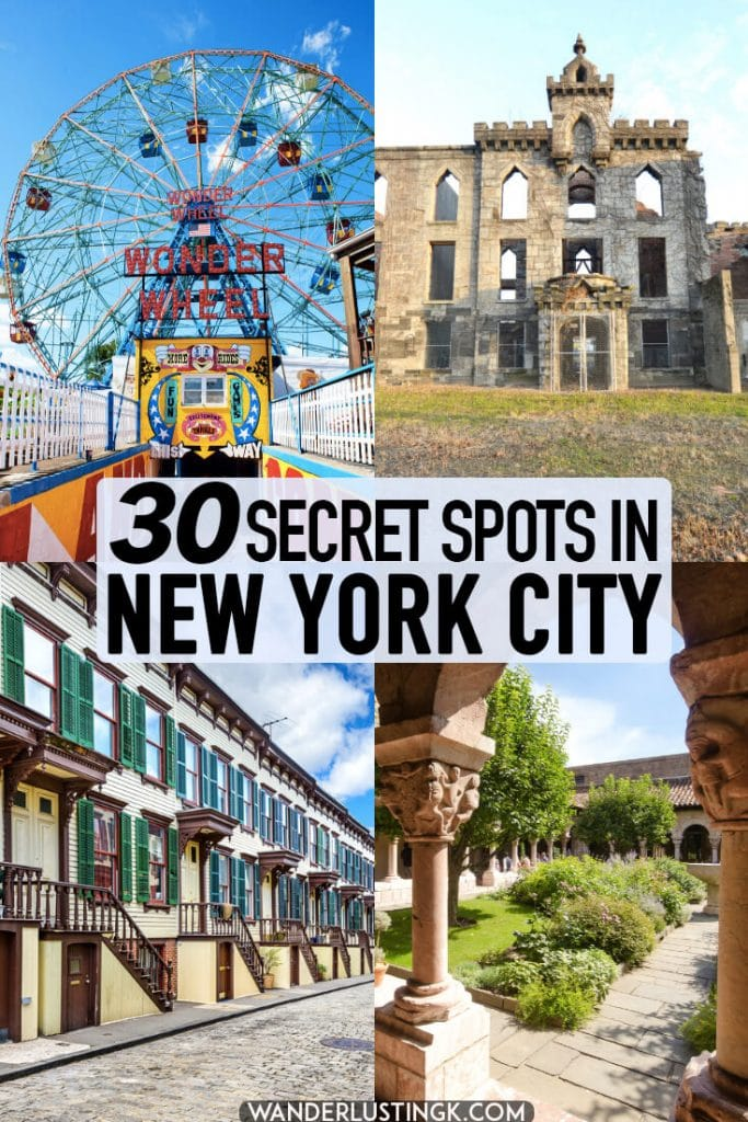 Looking for a glimpse of New York City off the beaten path? Read this insider guide to secret New York written by a native New Yorker, including gems in every borough! Discover something new in New York! #travel #NewYorkCity #NewYork #NYC