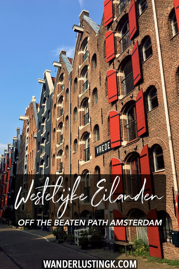 Looking to get off the beaten path in Amsterdam? Discover the Western Islands in Amsterdam, a gorgeous neighborhood in Amsterdam, through a resident's eyes! #travel #holland #netherlands #amsterdam