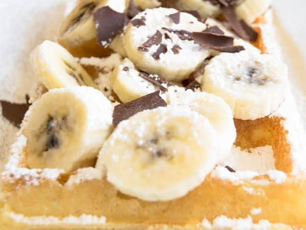 A waffles in Brussels: What you need to eat during a weekend in Brussels!