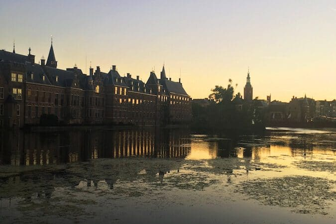 The BInnenhof is one of the highlights of the Hague. This political institution in the Hague can be easily see on this free self-guided bike tour of the Hague!
