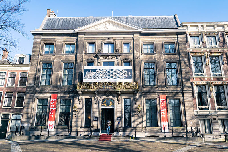 Exterior of Escher in Het Palais, the Escher Museum in the Hague! #escher #Hague #travel